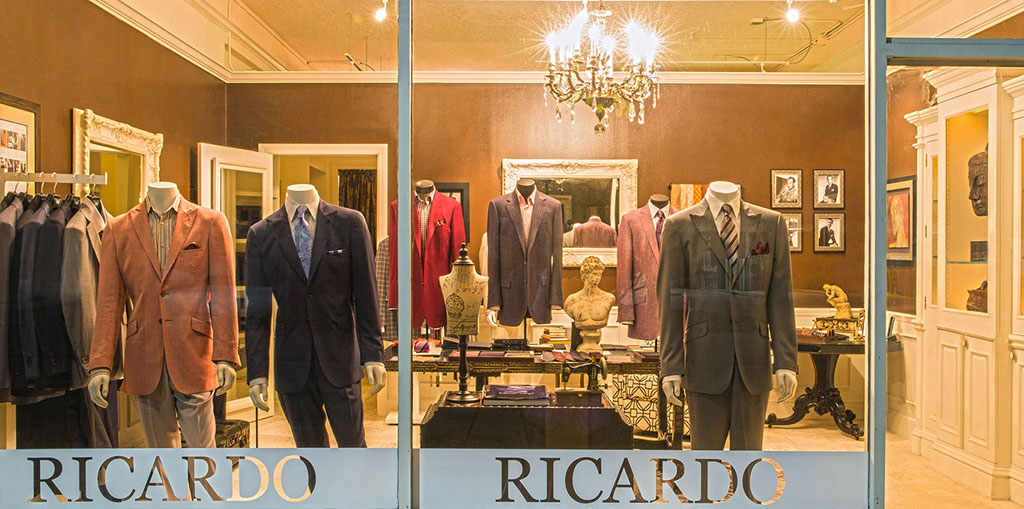 Ricardo Custom Clothing Storefront - Contact Us - Our Clients